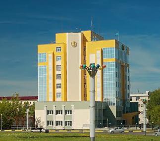 Усть-Каменогорск и городская администрация