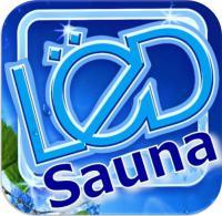 САУНА ЛЁД, логотип