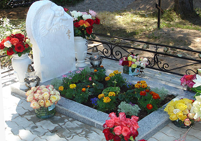 Оформление цветников на могилах цена на памятники санкт петербурга фото и рецептами